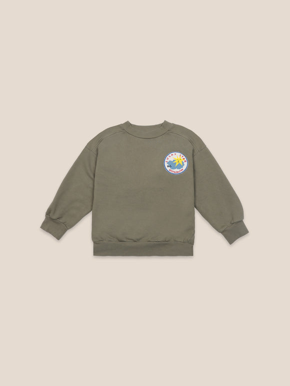 BOBO CHOSES LUCKY STAR PATCH SWEATSHIRT (2Y-11Y) - Klade Children's Boutique
