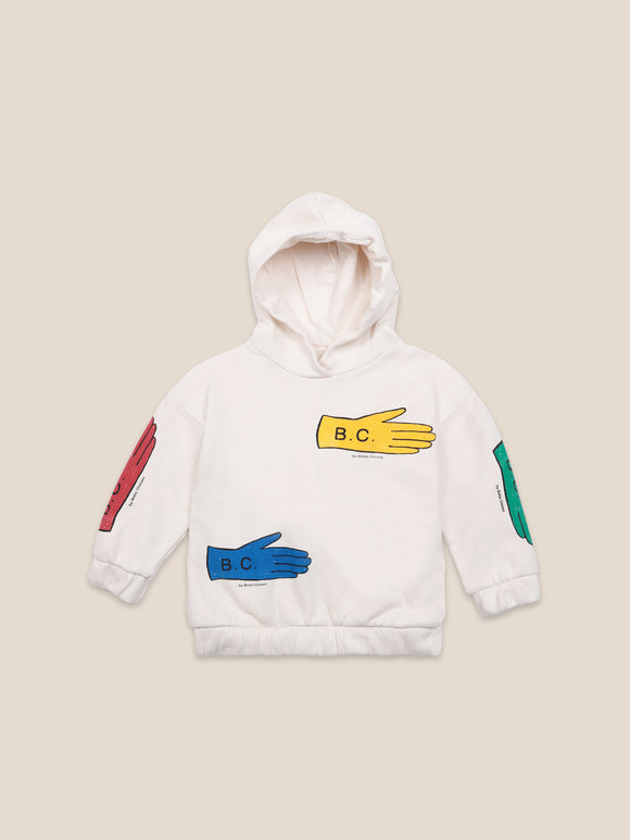 BOBO CHOSES LOST GLOVES HOODED SWEATSHIRT (2Y-11Y) - Klade Children's Boutique