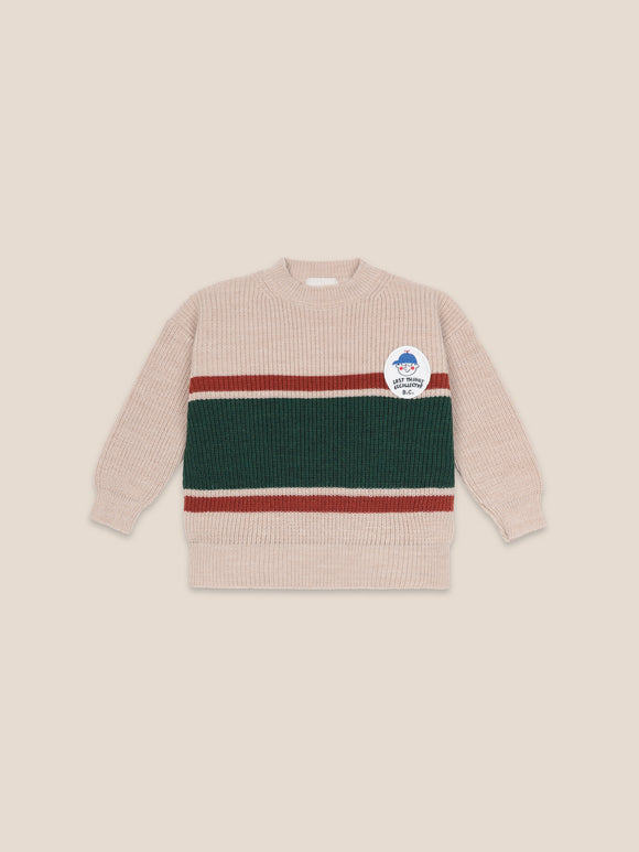BOBO CHOSES BOY PATCH JUMPER (2Y-11Y) - Klade Children's Boutique