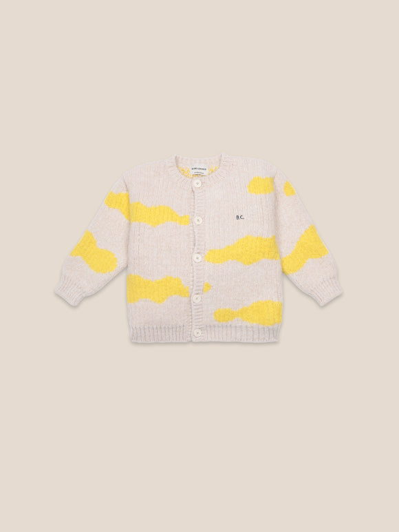 BOBO CHOSES CLOUDS AO CARDIGAN (2Y-11Y) - Klade Children's Boutique
