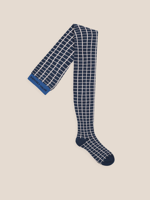 BOBO CHOSES GRID TIGHTS (23-31) - Klade Children's Boutique