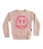 NUNUNU EMBROID SMILE SWEATSHIRT (12M-14Y) - Klade Children's Boutique