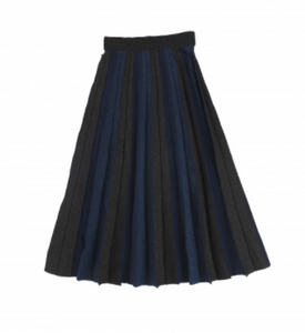 MUN METALLIC OMBRE PLEAT MIDI (XXS-XL)