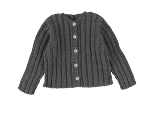 MAMITIS SEAMLESS CARDIGAN FRON BUTTONED (3M-24M)