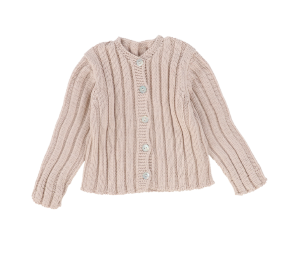 Mamitis Seamless Cardigan Fron Buttoned