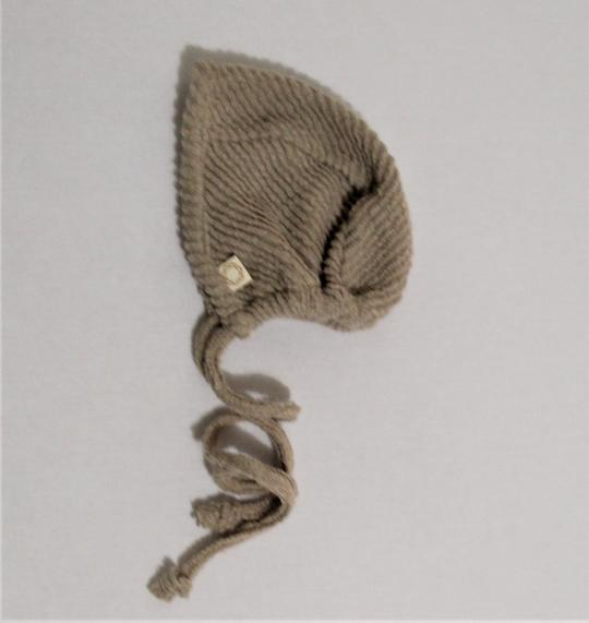 CITRINE TERRY RIB BONNET (9M-12M