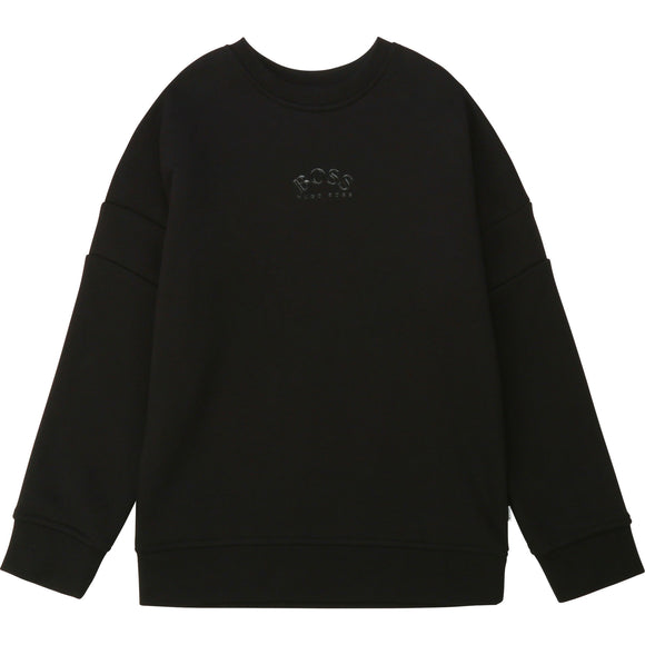 HUGO BOSS SWEATER PRINTED LOGO (4Y-14Y) - Klade Children's Boutique