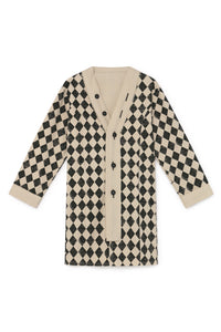 Little Creative Diamond Straight Coat - Klade Children's Boutique