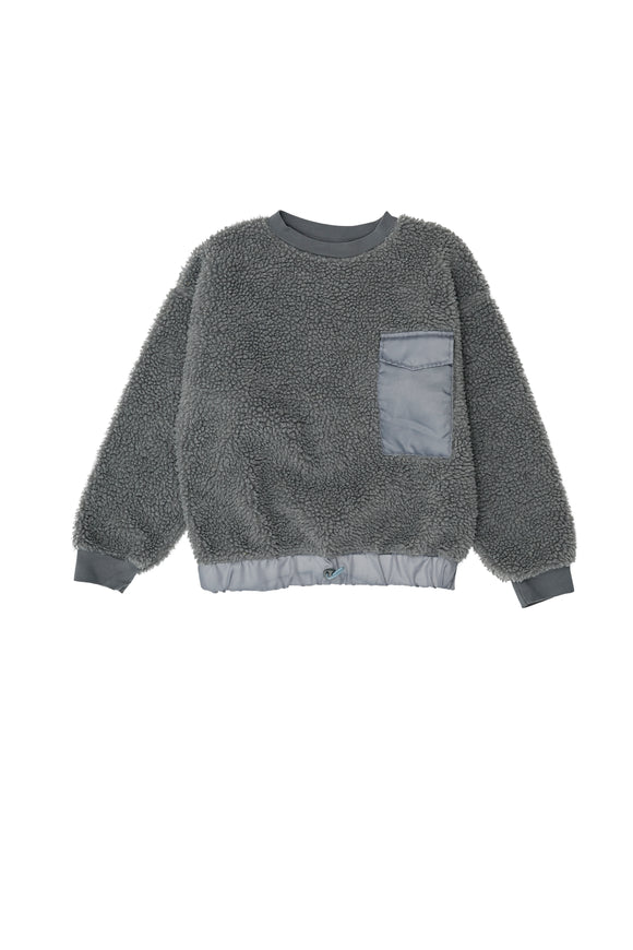 THE CAMPAMENTO TEDDY SWEATSHIRT (2Y-12Y)