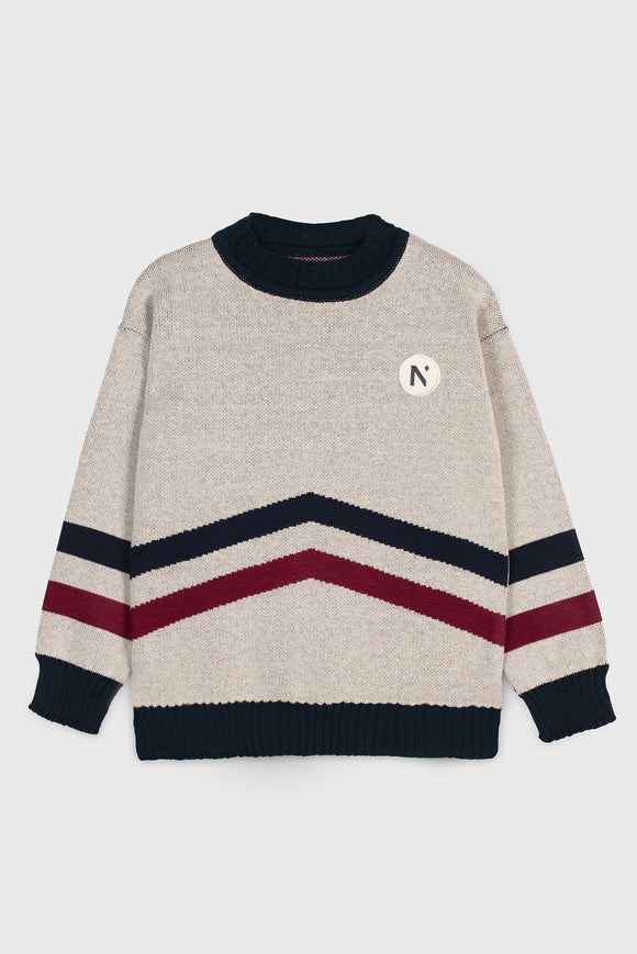 Mipounet Arrow Knit Jumper