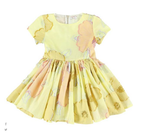 MORLEY JELSA MARYGOLD DRESS (2Y-16Y)