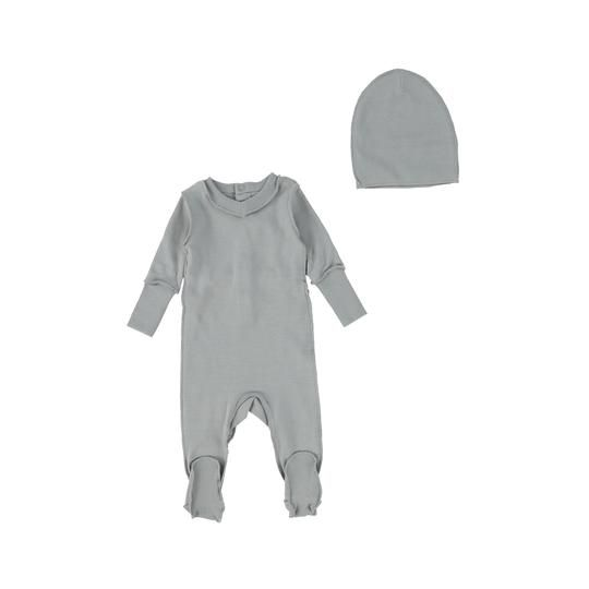 Little Parni Vneck Onesie