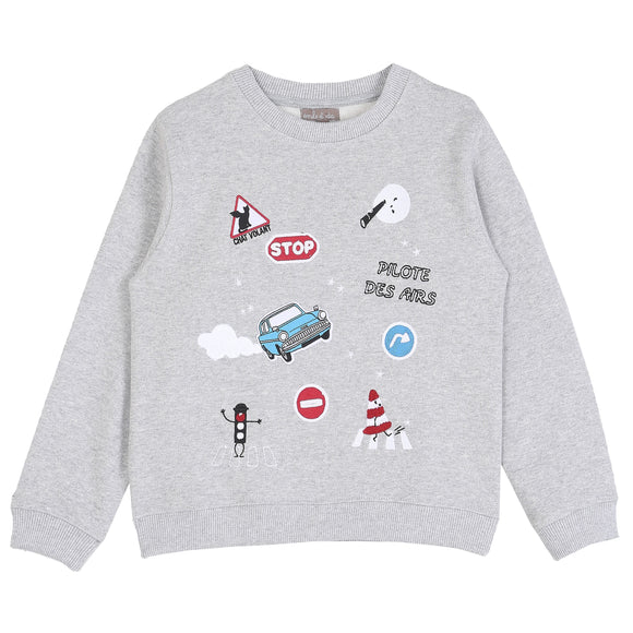 EMILE R090B SWEATSHIRT (2Y-10Y) - Klade Children's Boutique