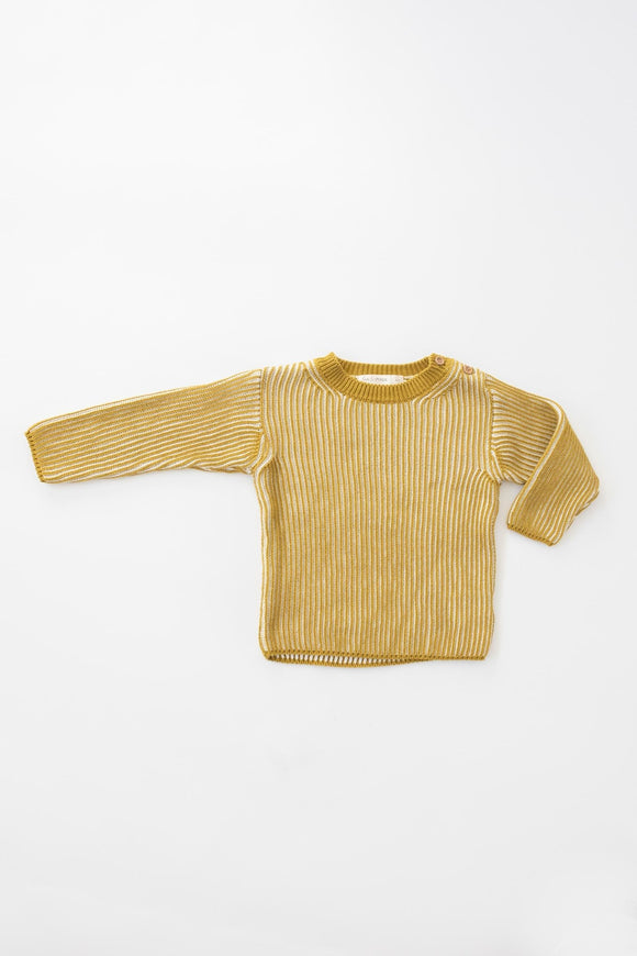 Fin & Vince Knit Ribbed Top