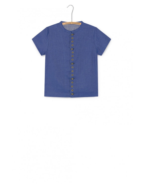 Little Creative Baby Soft Denim Shirt - Klade Children's Boutique