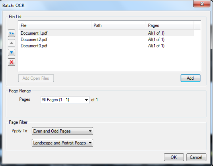 Use Bluebeam OCR to make scanned text selectable and