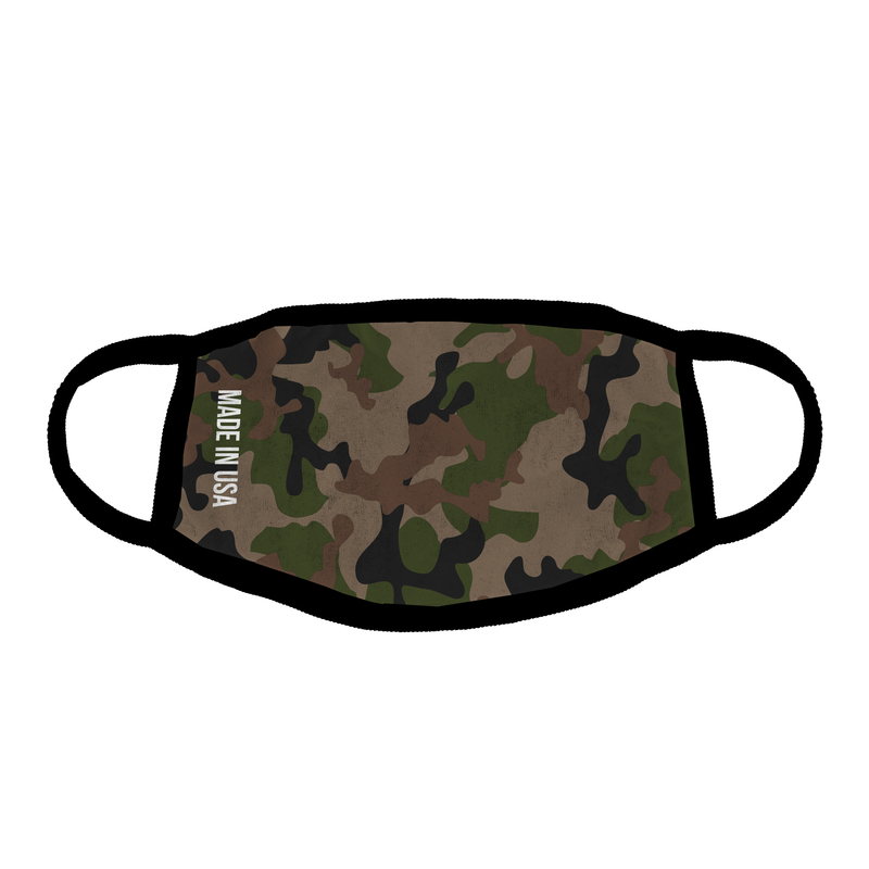Original Camouflage Ear Loop Mask