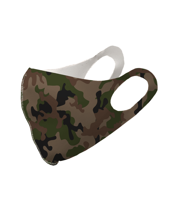 Original Camouflage Olson Face Mask