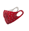 Red Paisley Bandana Olson  Mask