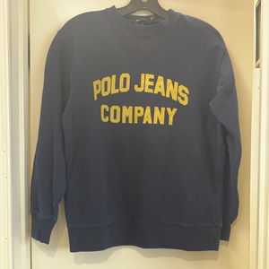 Nasty Gal Navy Blue Sweatshirt Size Small