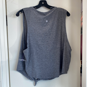 Lulu Lemon grey  Athletic Top Size Large