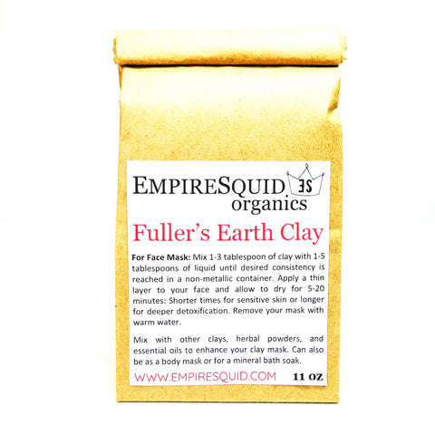 Fullers Earth Clay - EmpireSquid Organics
