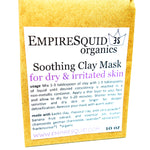 Soothing Kaolin Clay Mask with Aloe - EmpireSquid Organics