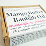 Mango Butter & Baobab Oil Handmade Soap