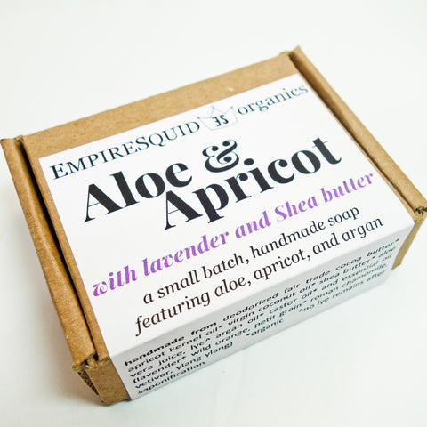 Aloe & Apricot Bar Soap