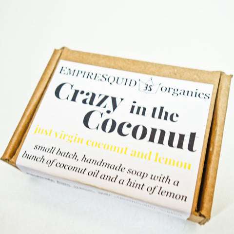 Crazy in the Coconut Organic Bar Soap