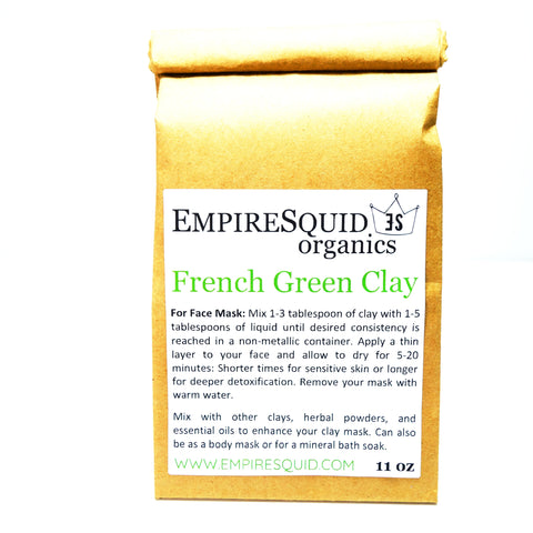 French Green Clay - EmpireSquid Organics