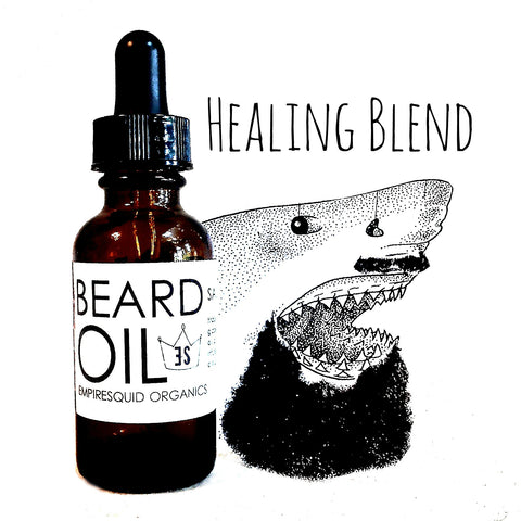 Beard Oil Healing Blend - EmpireSquid Organics