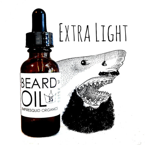Beard Oil Extra Light - EmpireSquid Organics