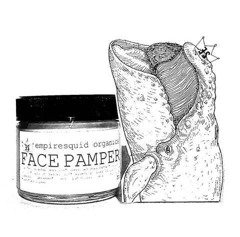 Face Pamper Soothing Blend Organic Moisturizer For Sensitive Skin