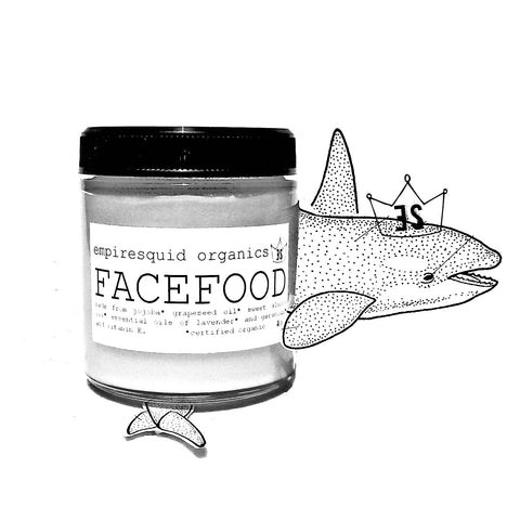 Face Food with Shea Butter - EmpireSquid Organics
