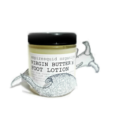 Foot Cream Virgin Butter - EmpireSquid Organics