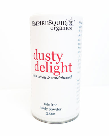 Dusty Delight Body Powder - EmpireSquid Organics