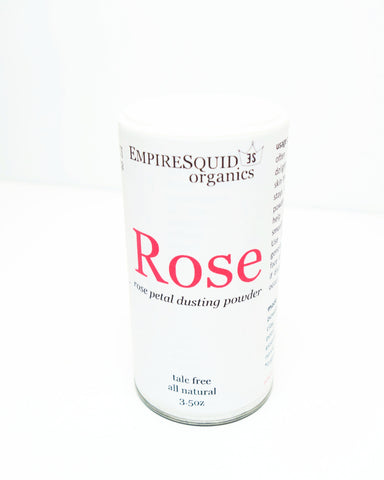 Rose Body Powder - EmpireSquid Organics