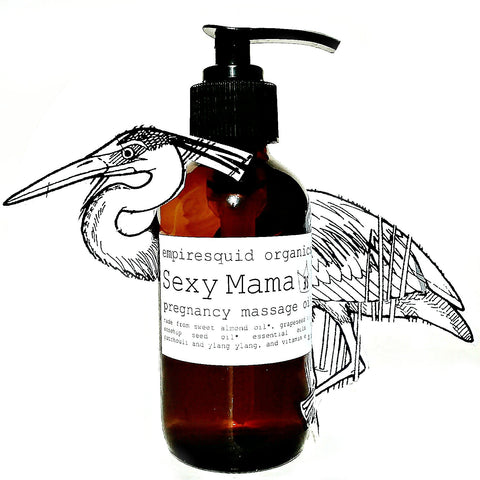 Sexy Mama Massage Oil - EmpireSquid Organics