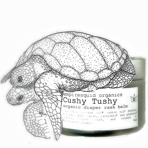 Cushy Tushy Diaper Rash Cream - EmpireSquid Organics
