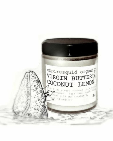 Coconut Lemon Virgin Butter - EmpireSquid Organics
