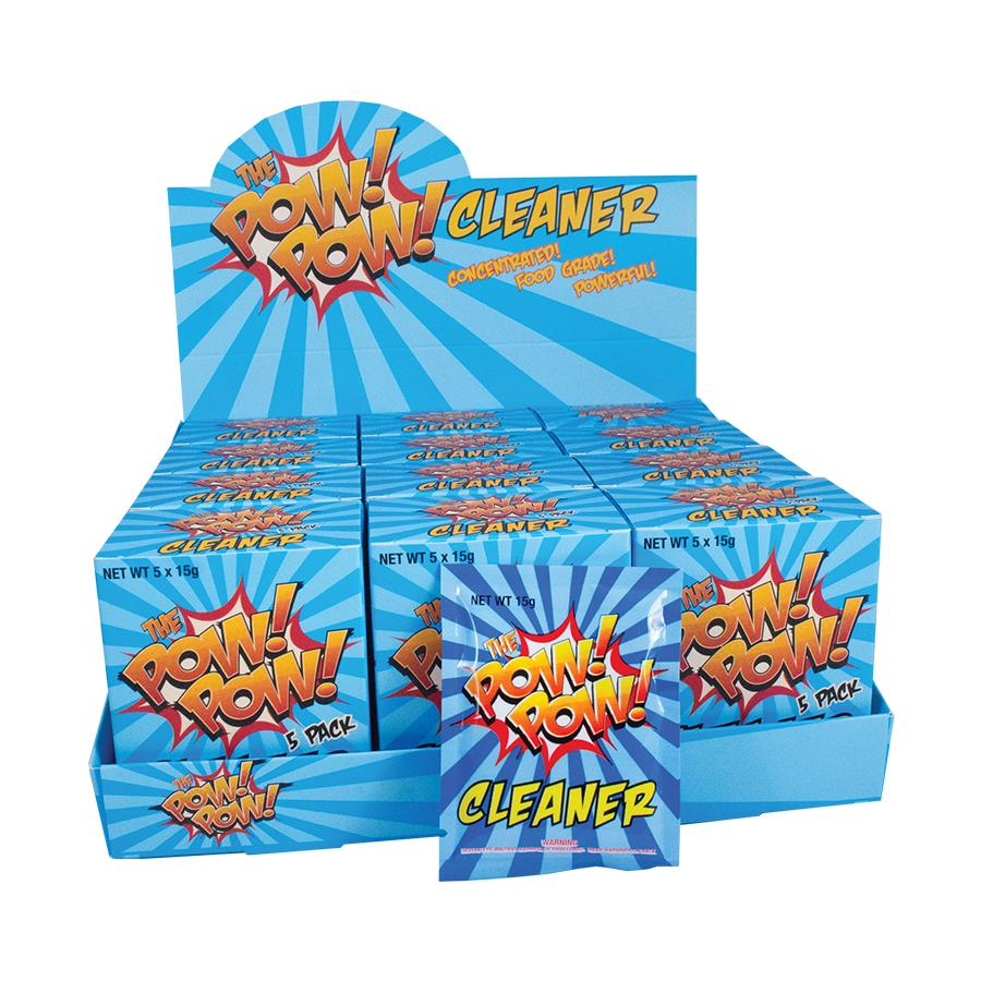 Pow Pow Cleaner 5/Pack - Blunt & Cherry