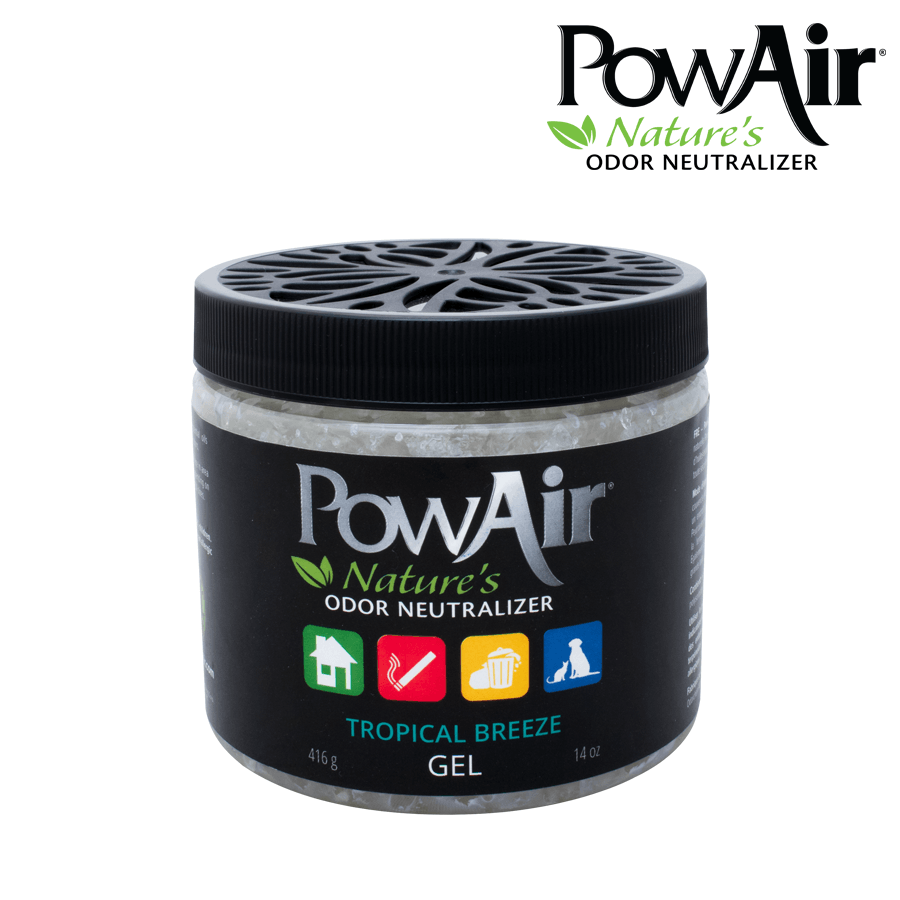 Powair Gel Tropical Breeze Scent Black Label Series - Blunt & Cherry