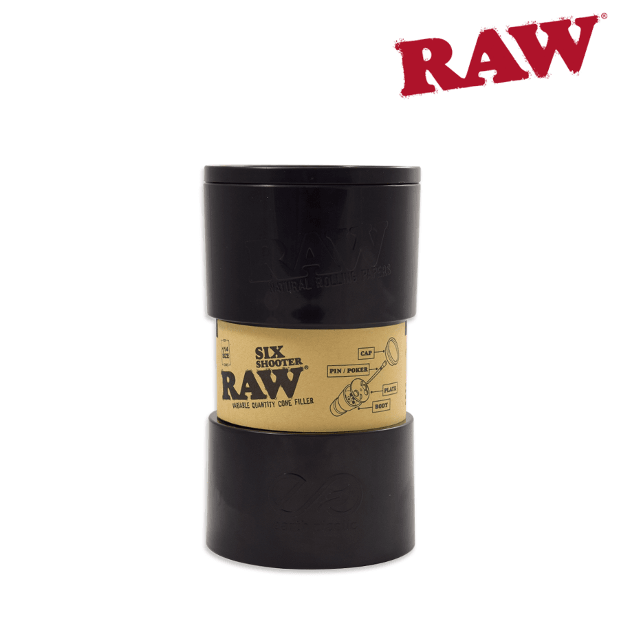 Raw King Size Six Shooter - Blunt & Cherry