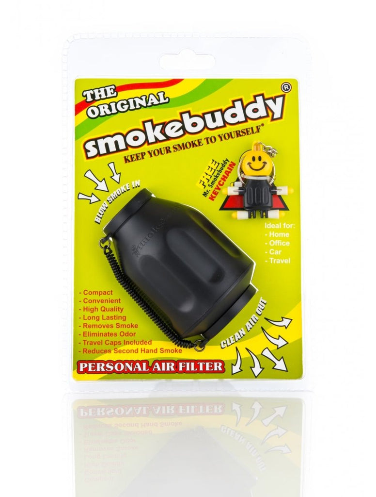 SmokeBuddy Personal Air Filter (BLACK) - Blunt & Cherry