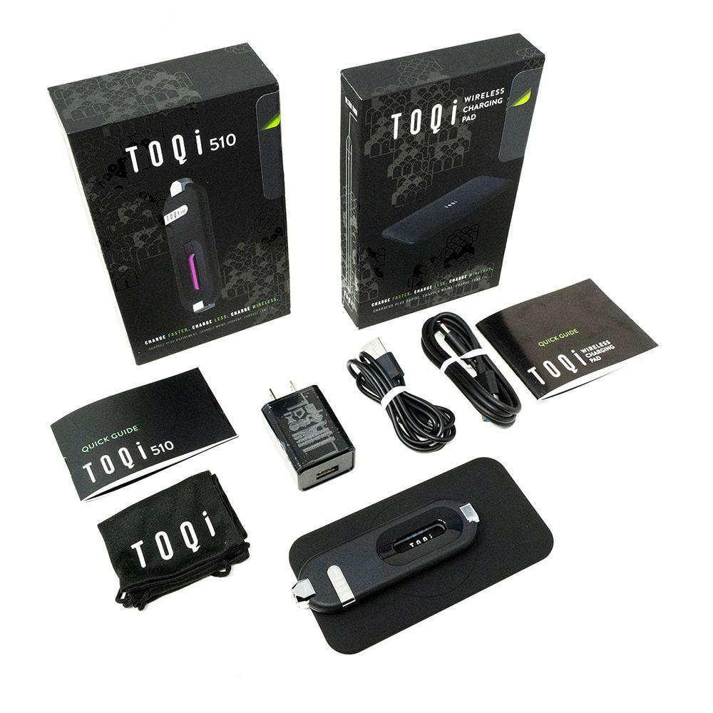 TOQi 510 Starter Bundle - Blunt & Cherry