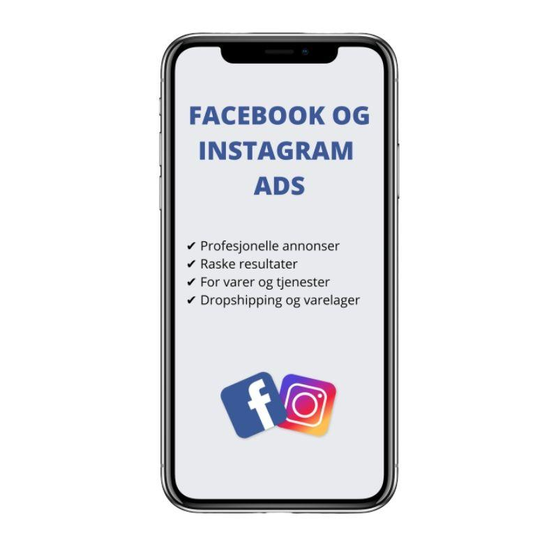 Facebook og Instagram Ads - 1on1 Guide - GrunderKlepp.no