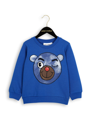 Mini Rodini Blue Bear Sweatshirt