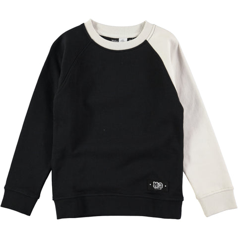Molo Morten Black & White Sweatshirt