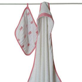 Aden + Anais Bathing Beauty Hooded Towel Set
